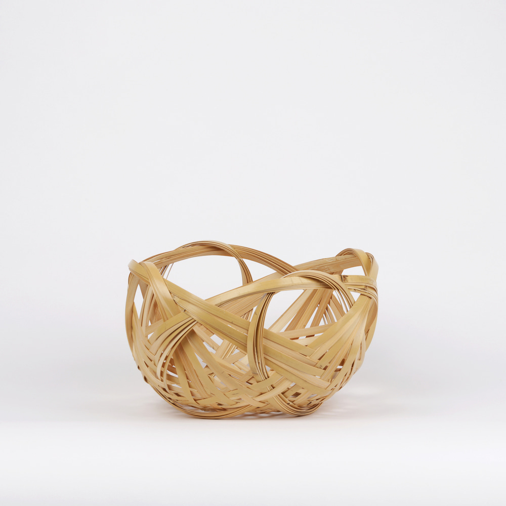 [코쵸사이 코스가] Shikainami Basket, Natural
