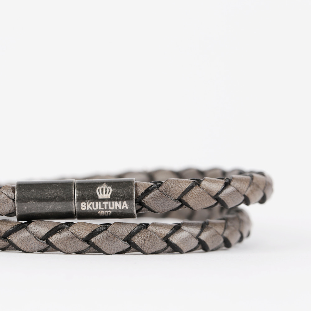 [스컬투나] The Stealth Bracelet 5mm - Graphite (For Men)