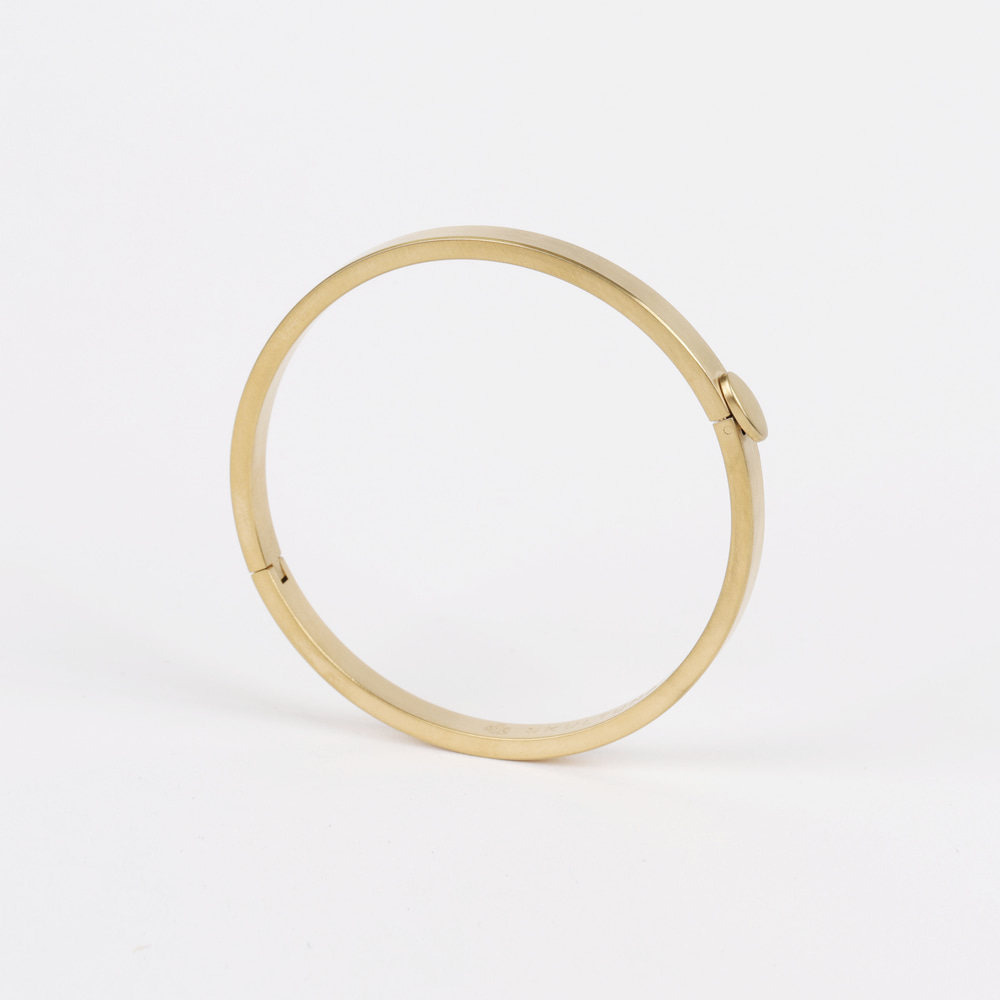 [스컬투나] Eternal Bangle - Matte Gold (for Women)