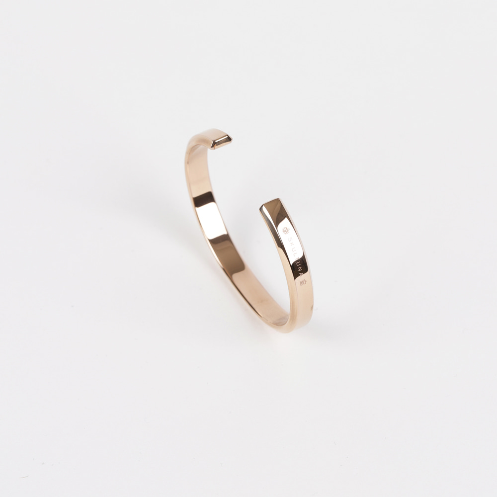 [스컬투나] Icon Cuff - Rose Gold (for Women)