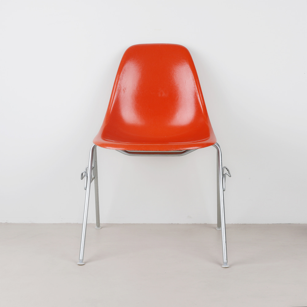 [임스체어] Eames Fiberglass Side Chair(DSS) - Orange