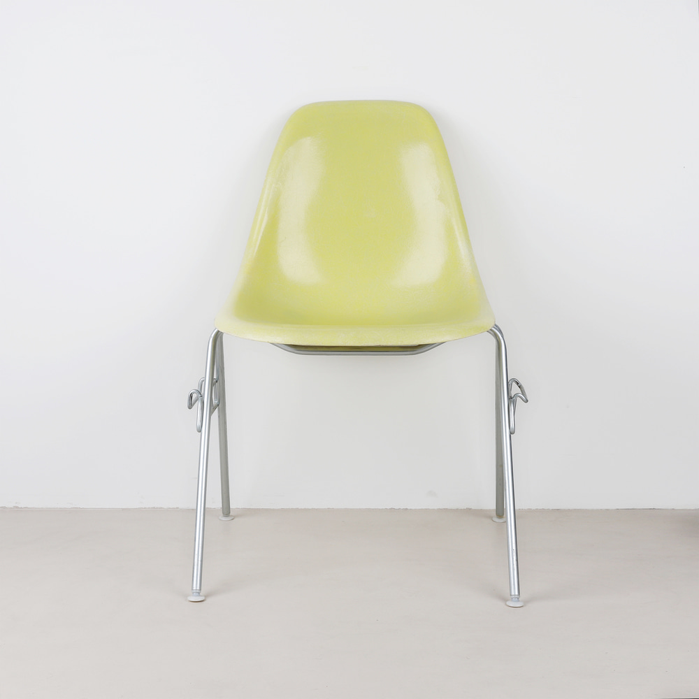 [임스체어] Eames Fiberglass Side Chair(DSS) - Lemon Yellow