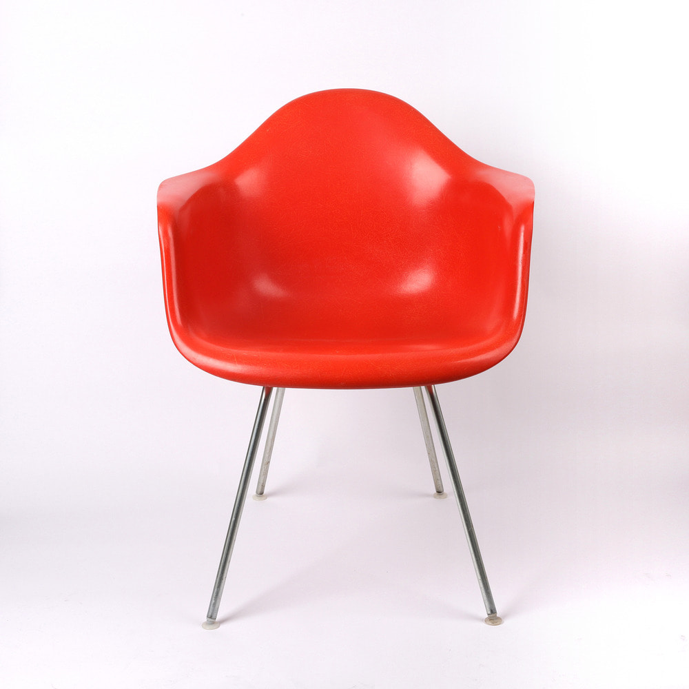 [임스체어] Eames Fiberglass Arm Chair(DAX) - Orange