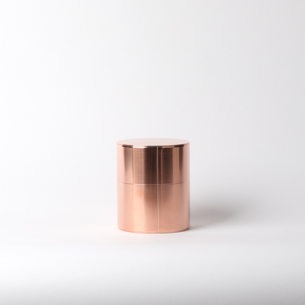 [카이카도] Kaikado Tea Caddy — Copper 400g