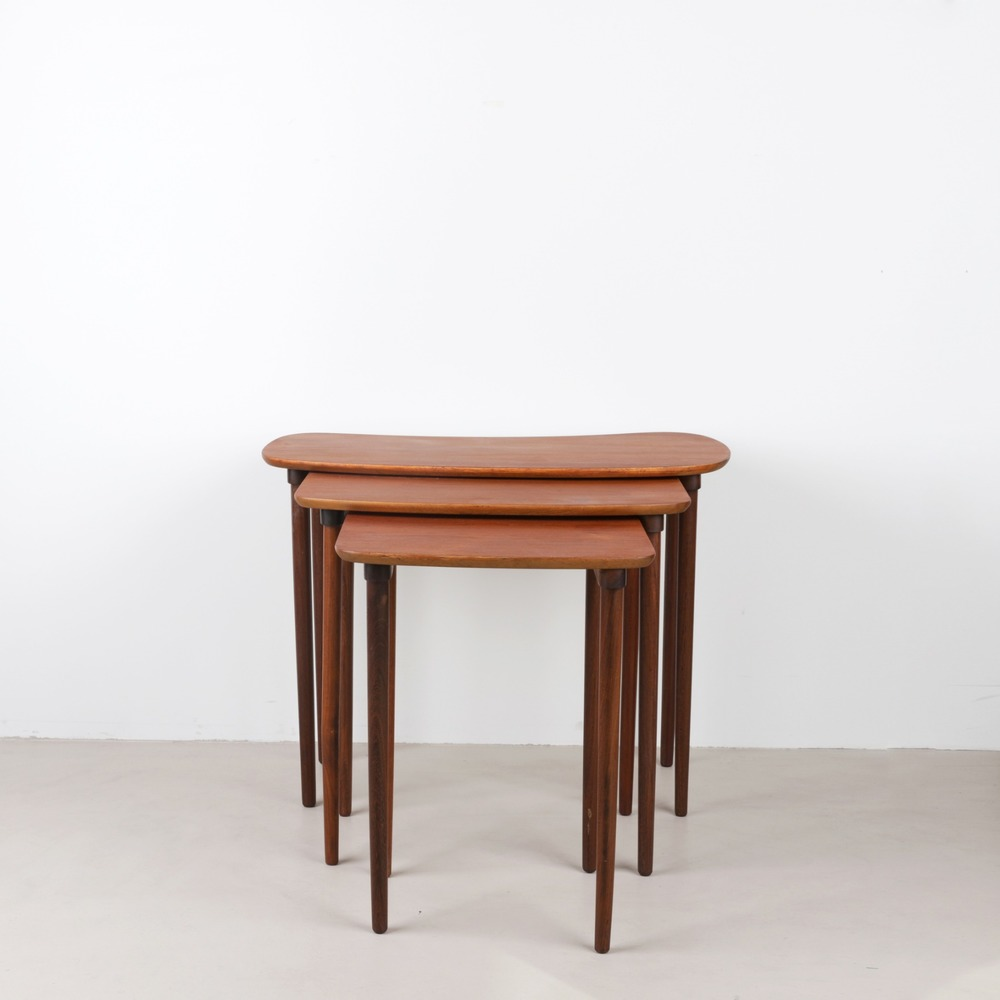[빈티지테이블] Danish Teak Nest of Tables, 1960s