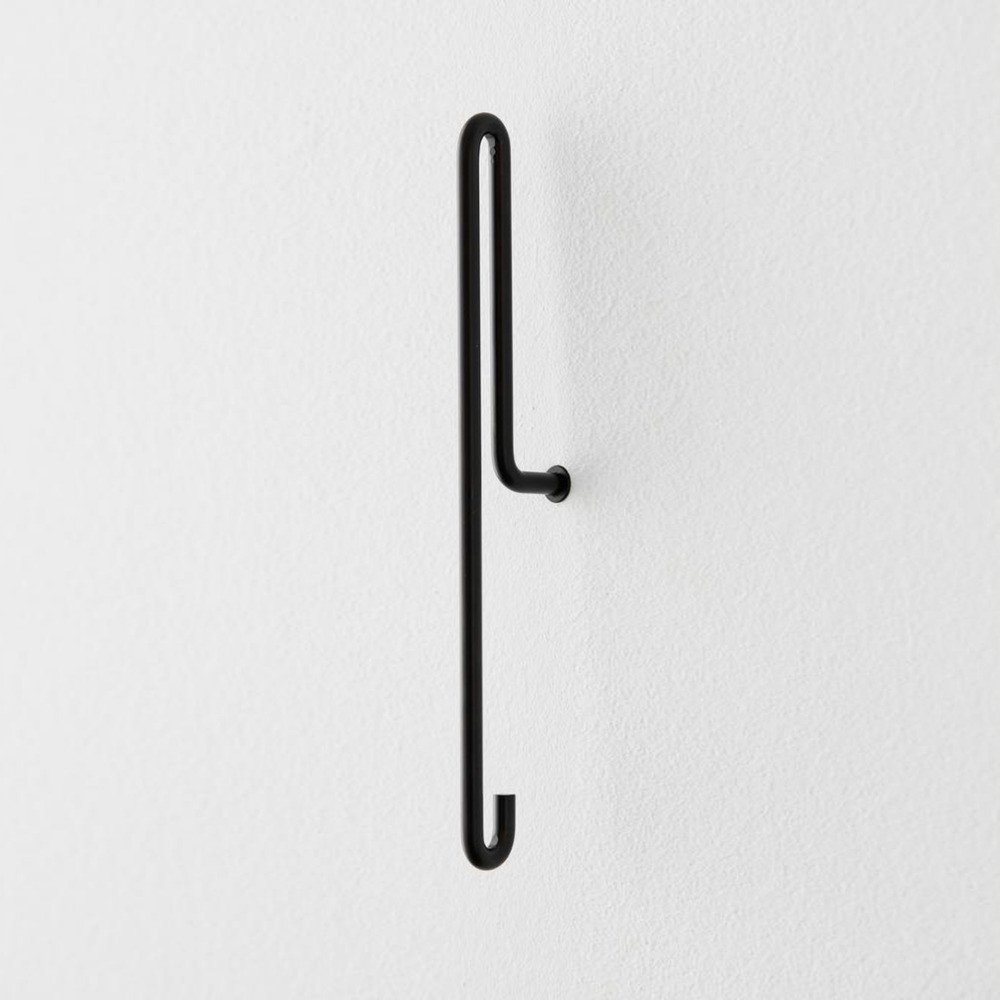 [모비] Wall Hook — Black — Large