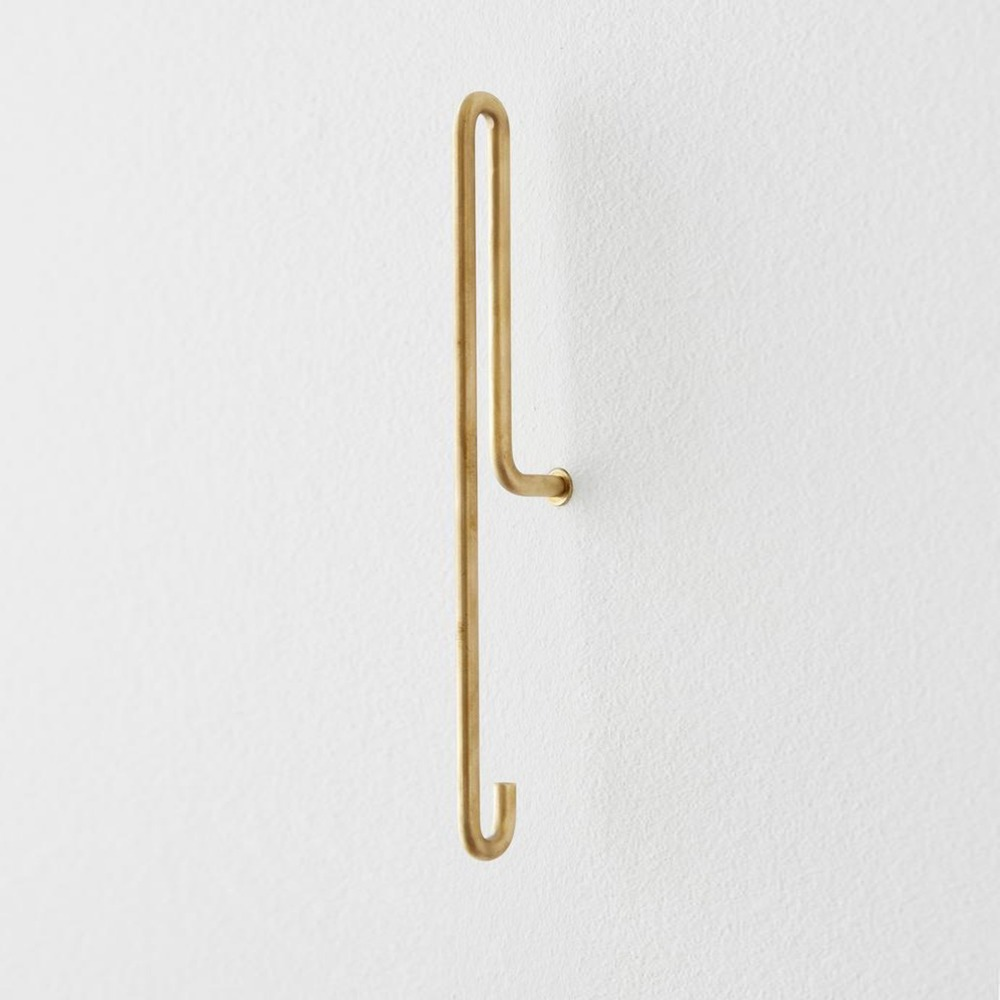 [모비] Wall Hook — Brass — Large