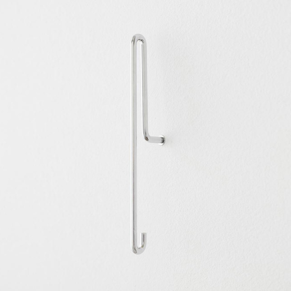 [모비] Wall Hook — Chrome — Large