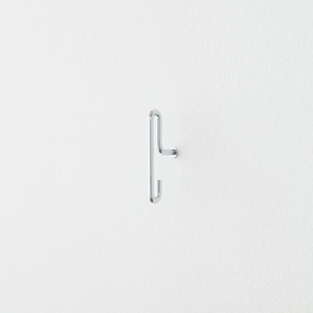 [모비] Wall Hook — Chrome — Small (x2)