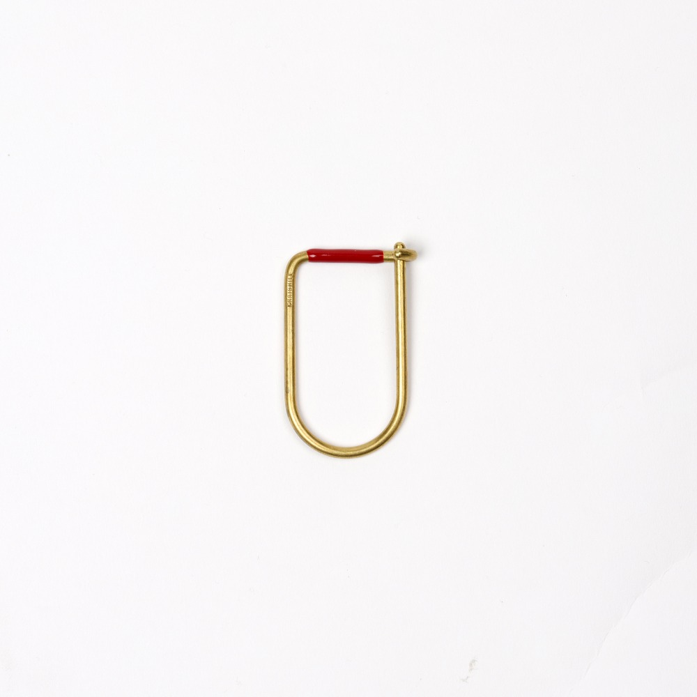 [크레이그힐] Wilson Keyring — Red