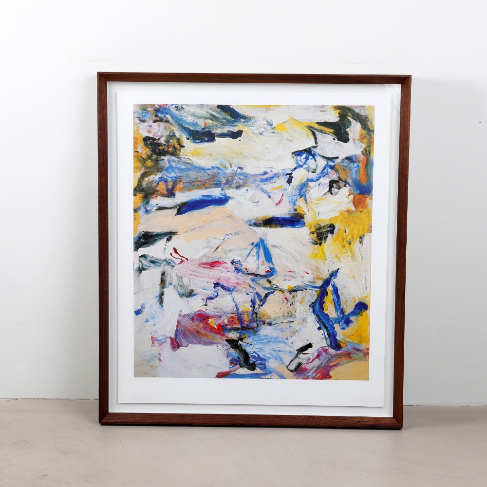 [윌렘 데 쿠닝] Willem de Kooning — North Atlantic Light (액자포함)