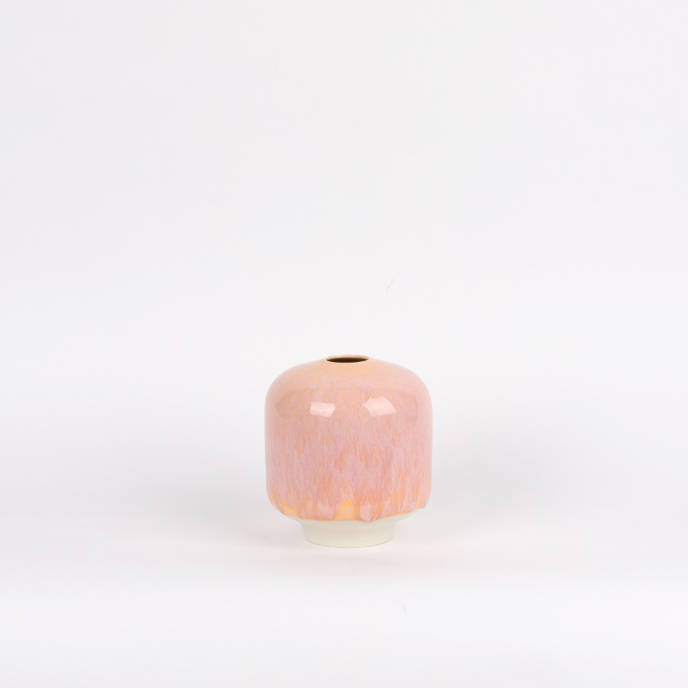 [아르호이] Plum Vase, Large — Cotton Candy