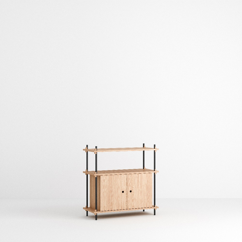 [모비] Shelving System Set — N°9 — Oak