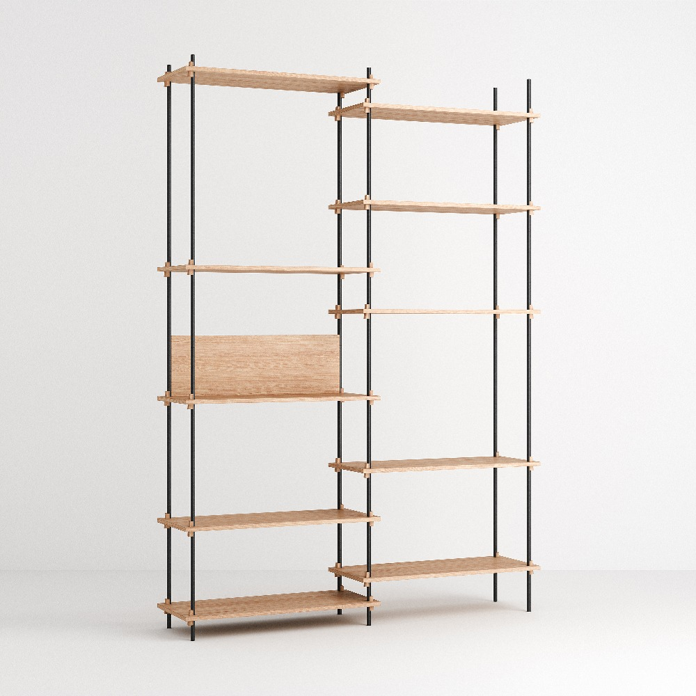 [모비] Shelving System Set — N°8 — Oak
