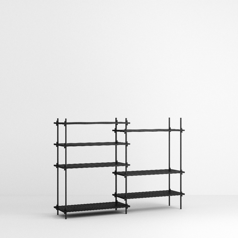 [모비] Shelving System Set — N°6 — Black