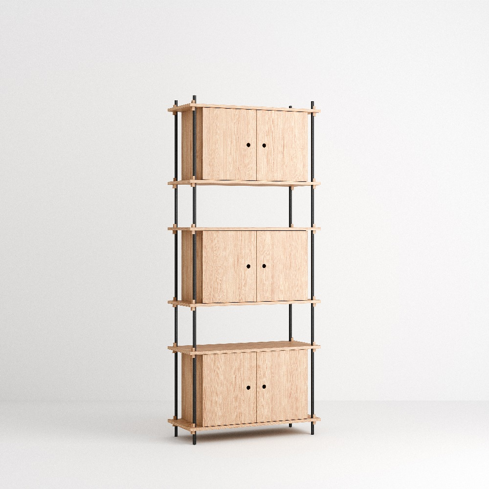 [모비] Shelving System Set — N°11 — Oak