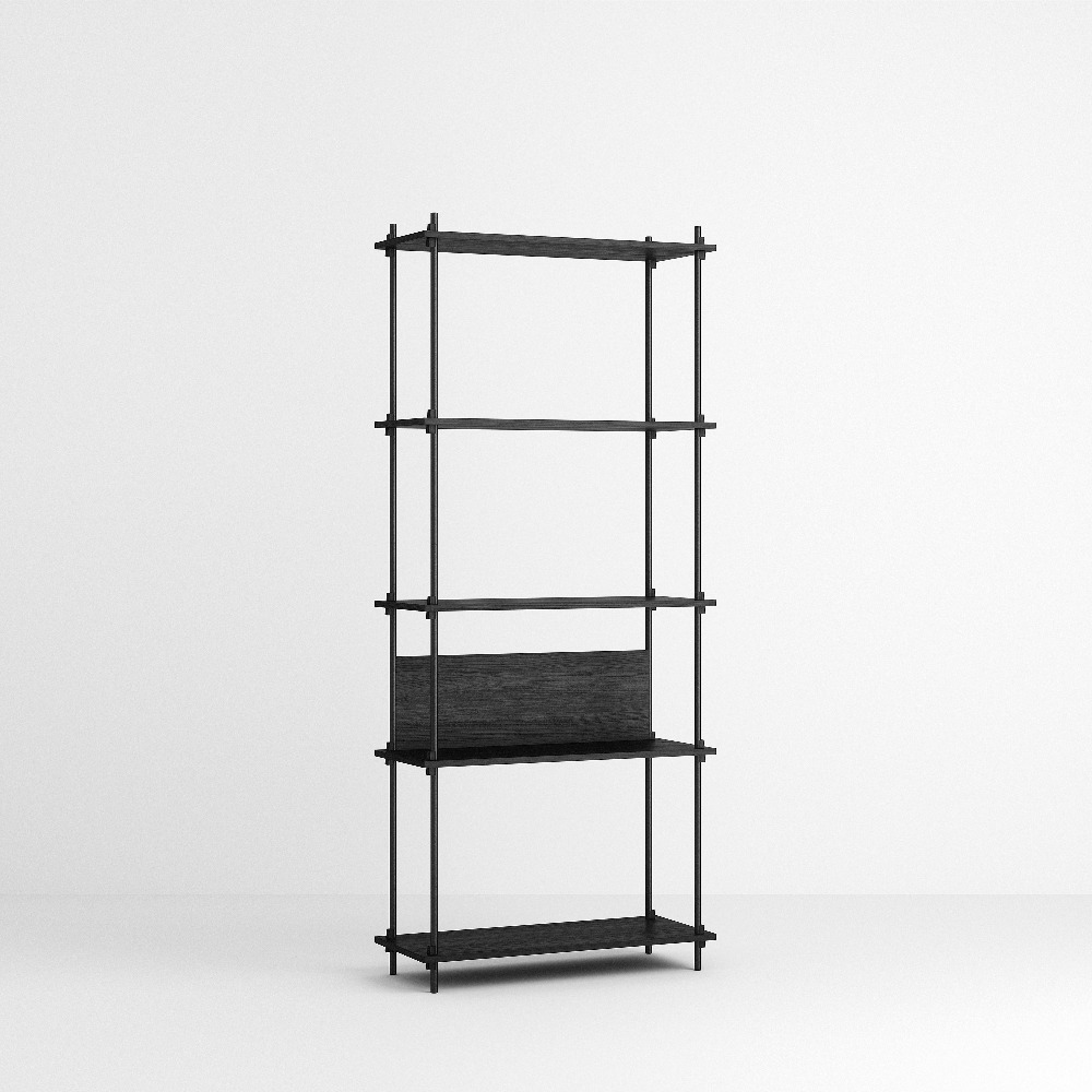 [모비] Shelving System Set — N°3 — Black