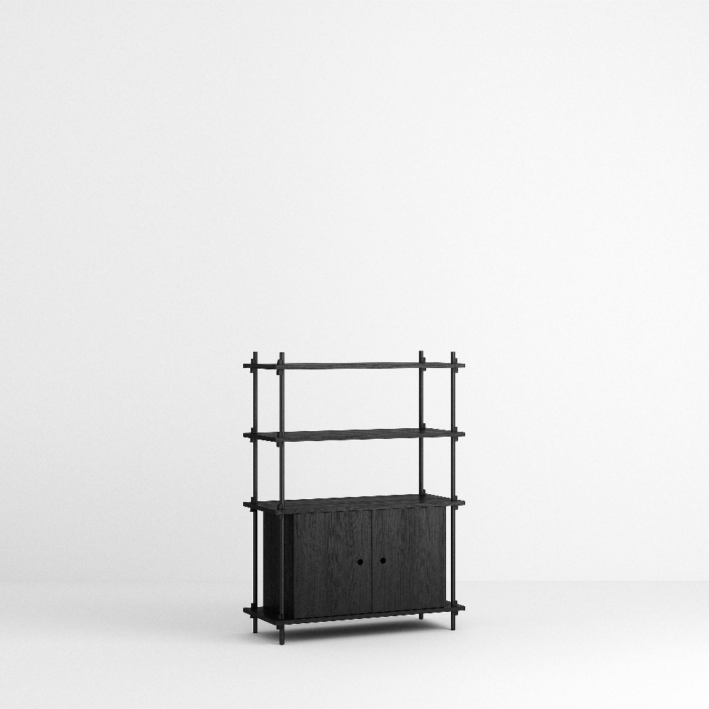 [모비] Shelving System Set — N°10 — Black