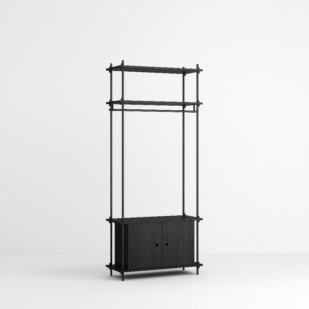 [모비] Shelving System Set — N°13 — Black