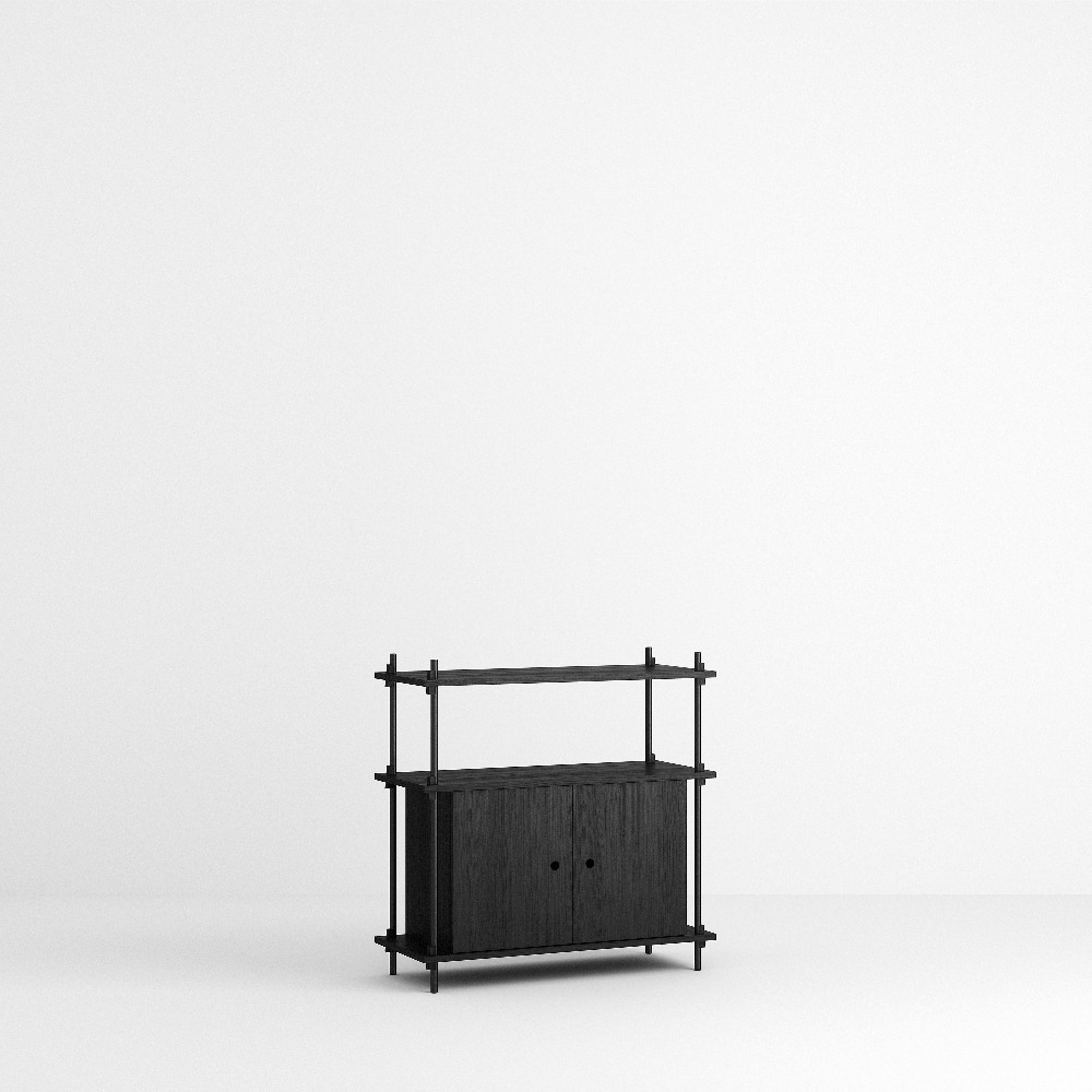 [모비] Shelving System Set — N°9 — Black