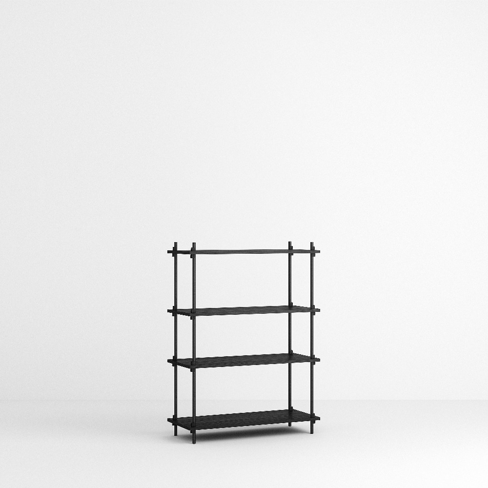 [모비] Shelving System Set — N°2 — Black