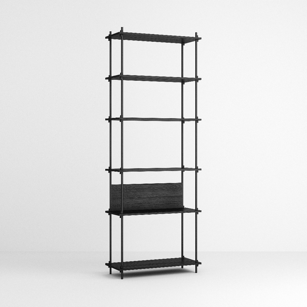 [모비] Shelving System Set — N°4 — Black