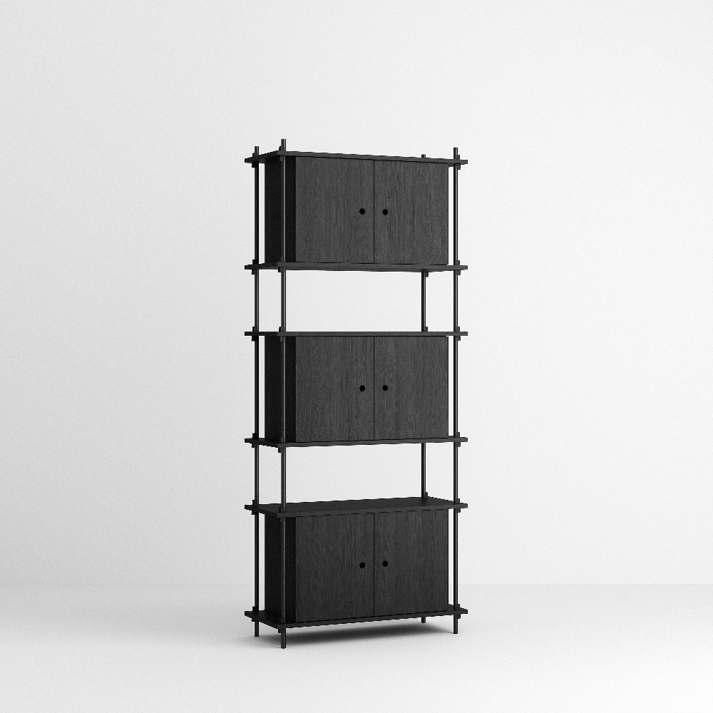 [모비] Shelving System Set — N°11 — Black