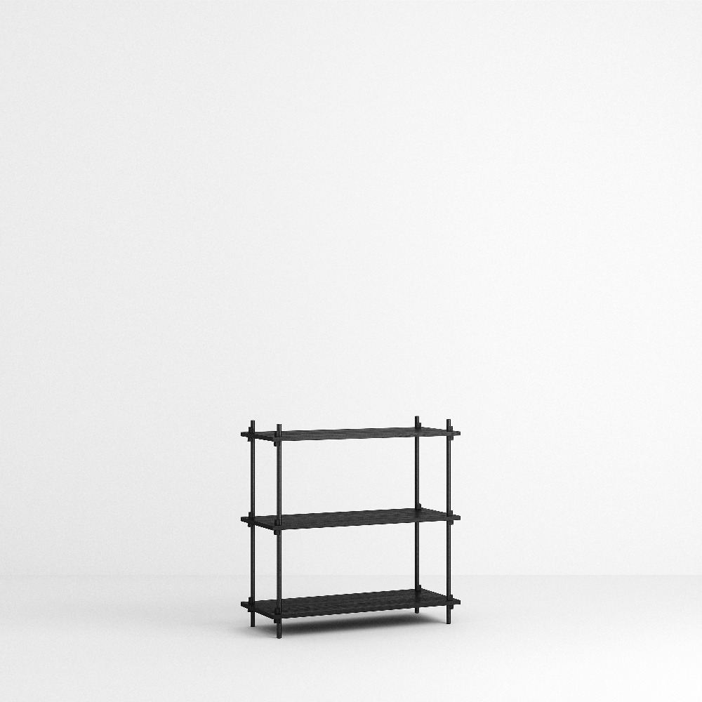 [모비] Shelving System Set — N°1 — Black