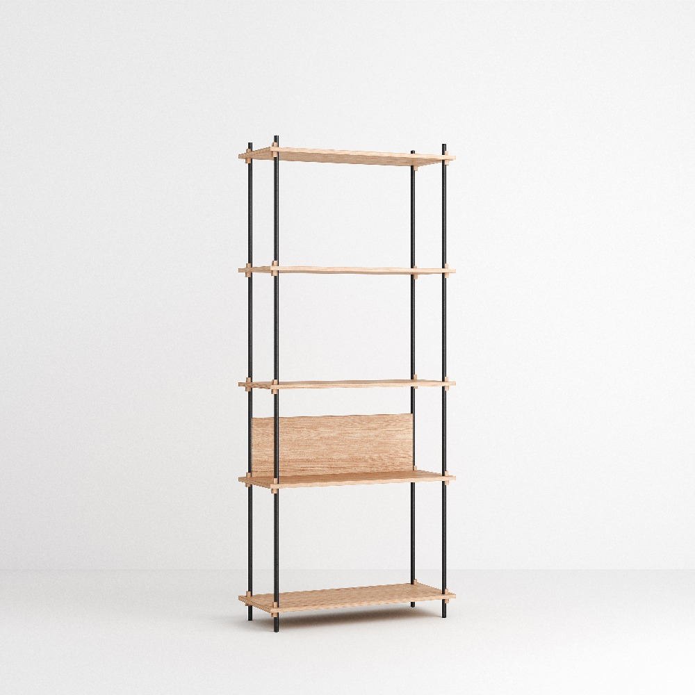 [모비] Shelving System Set — N°3 — Oak