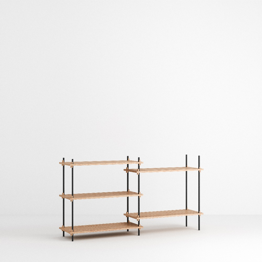[모비] Shelving System Set — N°5 — Oak