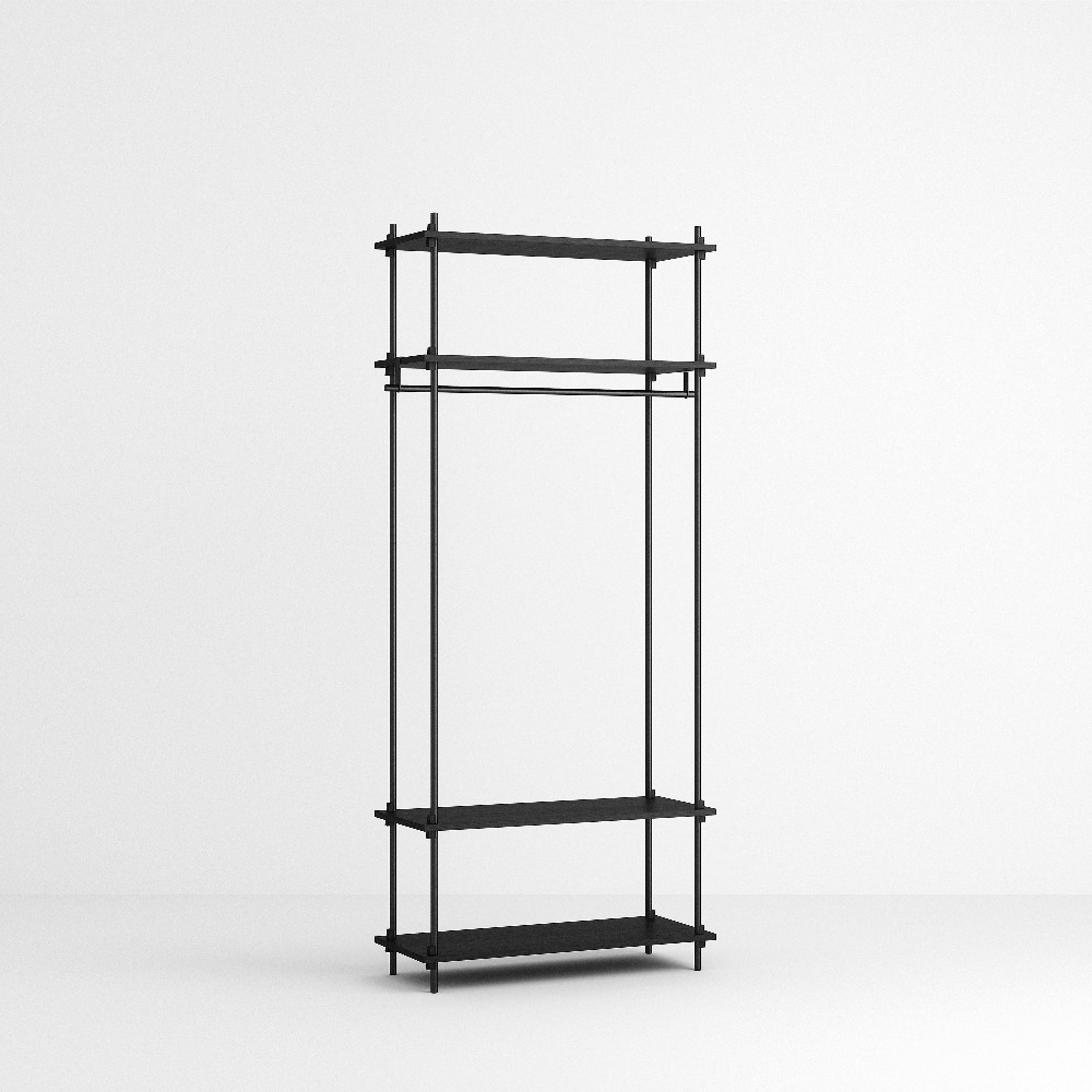 [모비] Shelving System Set — N°12 — Black