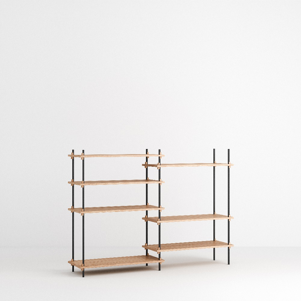 [모비] Shelving System Set — N°6 — Oak