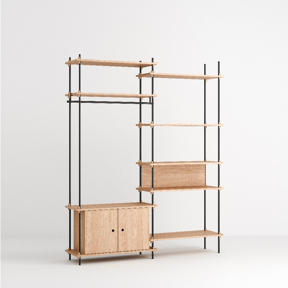 [모비] Shelving System Set — N°14 — Oak