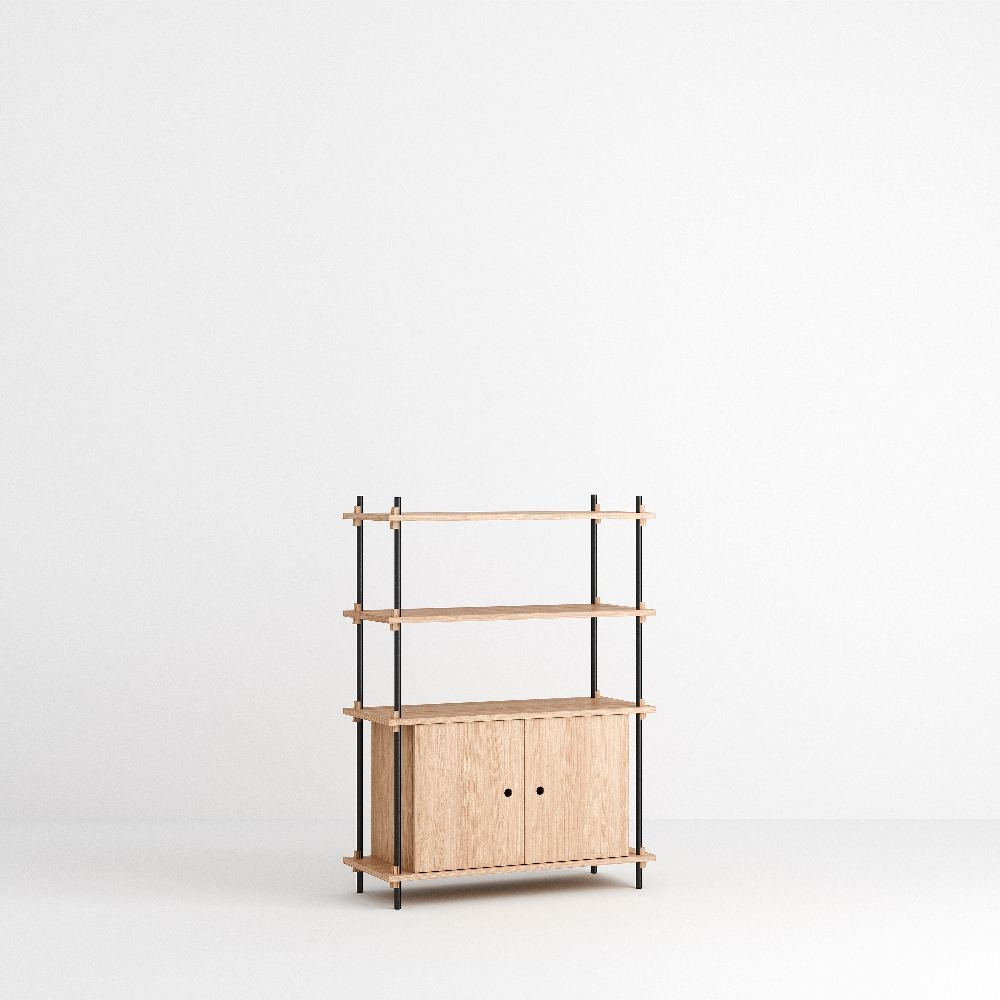 [모비] Shelving System Set — N°10 — Oak