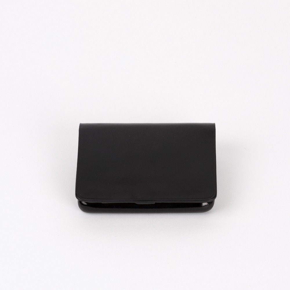 [일부세토] Leather Nolo Wallet — Black