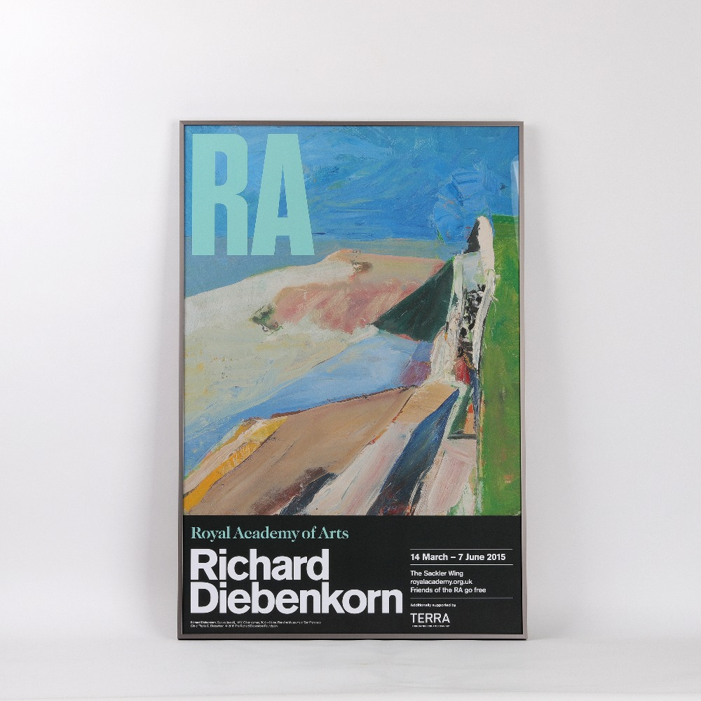 [전시포스터] Richard Diebenkorn Exhibition (액자포함)