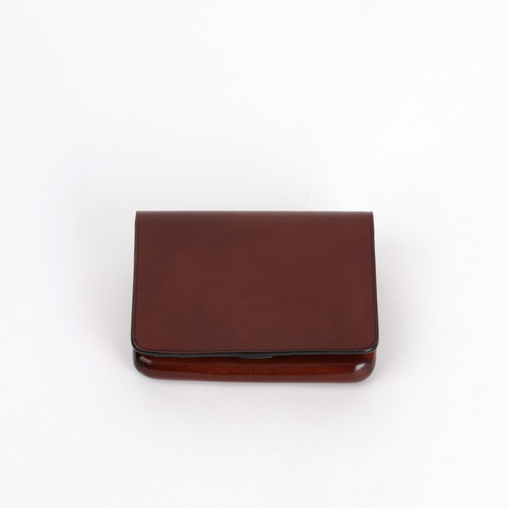 [일부세토] Leather Nolo Wallet — Brown