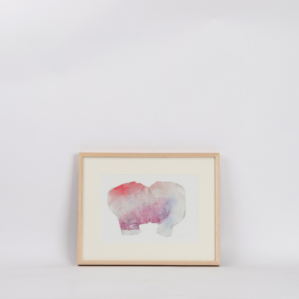 [보리아나] Modern Abstract Art Print — One (액자포함)