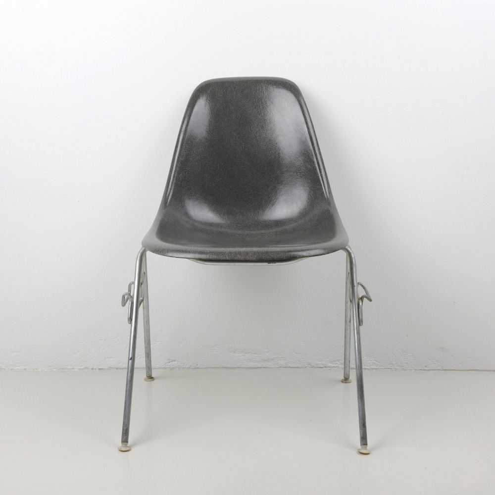 [임스체어] Eames Fiberglass Side Chair(DSS) - Elephant Gray